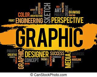 GRAPHIC word cloud