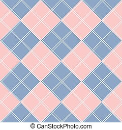 Rose Quartz Serenity Diamond Chessboard Background