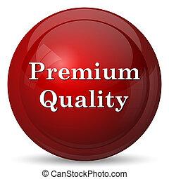 Premium quality icon. Internet button on white background.