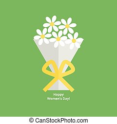 March 8 greeting card - International womens day greeting...