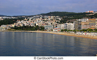Kavala city in Greece