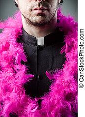 alegre, sacerdote,