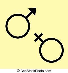 sexe dessin animé sex-symbol