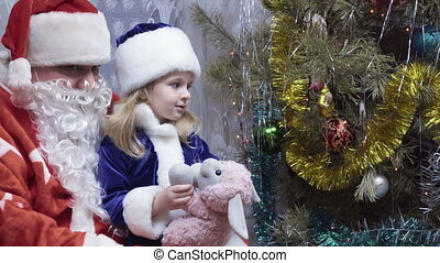 Snow Maiden and Grandfather Frost - Maiden Girl calling...