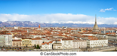 Turin Torino high definition panorama
