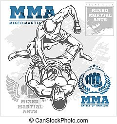 Match two fighters of martial mixed arts. - Match two...