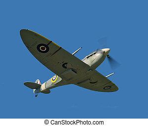 Spitfire - Flying spitfire