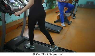 gym woman jogging track sport booty - gym woman jogging...