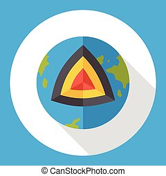 Stock Illustration of earth core csp0586326 - Search Clip Art ...
