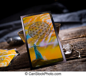 Tarot cards amd other accessories - Tarot cards and other...