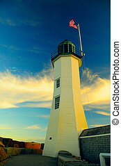 Old lighthouse, still gorgeous - Old Scituate lighthouse...