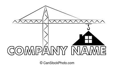 Logo of the cottage settlement. - logo cottage settlement...