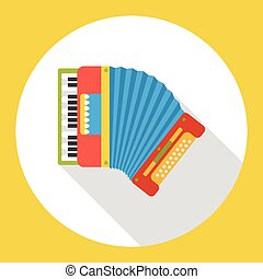 piano music instrument flat icon