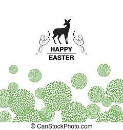 Vector Happy Easter Design