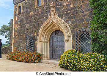 Catlonian Castle - Little Catalonian castle in the botanical...