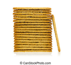 Simple crackers isolated