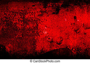 Red abstract background - Grunge texture, wall in a red tone...