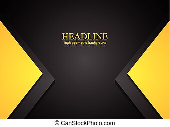 Bright contrast corporate background