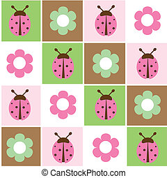 Spring background Seamless Vector illustration Suits well...