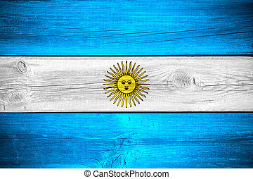 Argentinian flag - flag of Argentina or Argentinian banner...