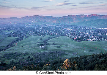 Sunset at Mt Diablo State Park