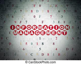 Information concept: Information Management on Digital Paper...