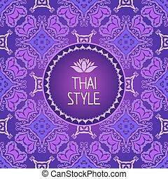 Thai Art Background.
