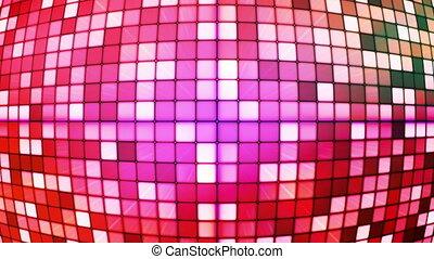 Twinkling Hi-Tech Cubes Globe 01 - Thank you for choosing...
