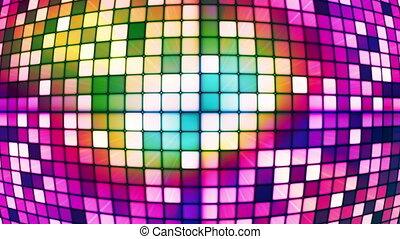 Twinkling Hi-Tech Cubes Globe 05 - Thank you for choosing...