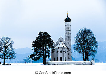 the St. Coloman Chapel in Bavary - The baroque St. Coloman...