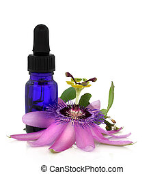 Passion Flower Essence - Passion flower with aromatherapy...