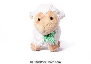 Cute plush toy sheep