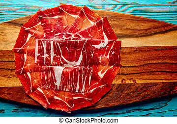 Jamon iberico han from Andalusian Spain Tapas