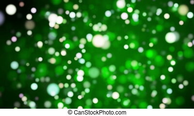 Broadcast Light Bokeh, Green, Events, Loopable, HD - Thank...