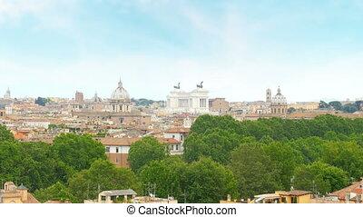 quot;rome panorama view, italy, 4kquot; - rome panorama...