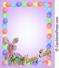 Easter Border Eggs