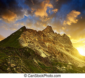 The Casanna mountain - Switzerland - The Casanna mountain of...