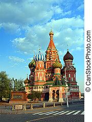 Vasiliy Blazhenniy church in Moscow