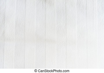 White Bed linen - Zoom shot of White Bed linen for...