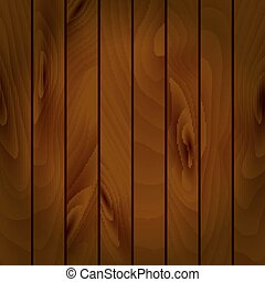 Realistic vector texture of wooden boards. - Realistic...