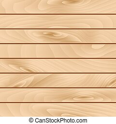 Realistic vector texture of wooden boards - Realistic...