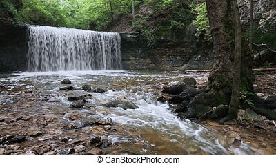 Waterfall at Indian Run Loop - Seamless loop features...