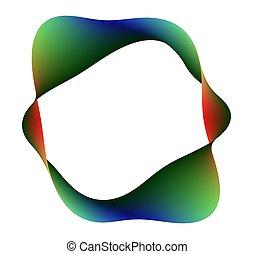 rainbow moebius - moebius with all the color spectrum