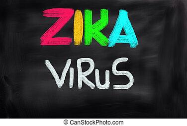 Zica Virus Concept