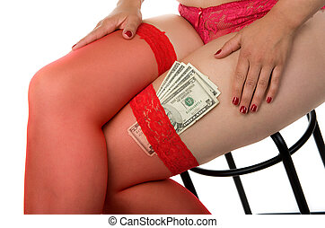 Hooker - Sex for money with an attractive hooker