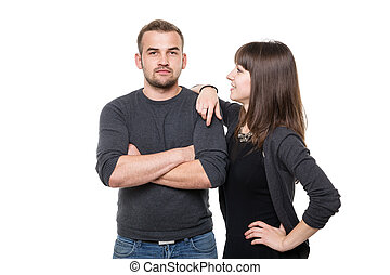 Self-confident couple - A photo of confident young couple...