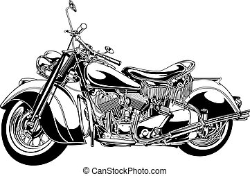 my black and white motorbike design - my original black and...