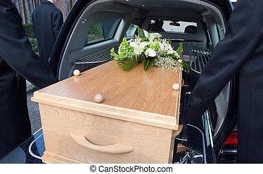 voiture, deuil