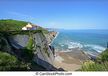 Chapel de San Telmo on Zumaia