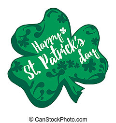 St Patricks Day - An abstract illustration on St Patricks...
